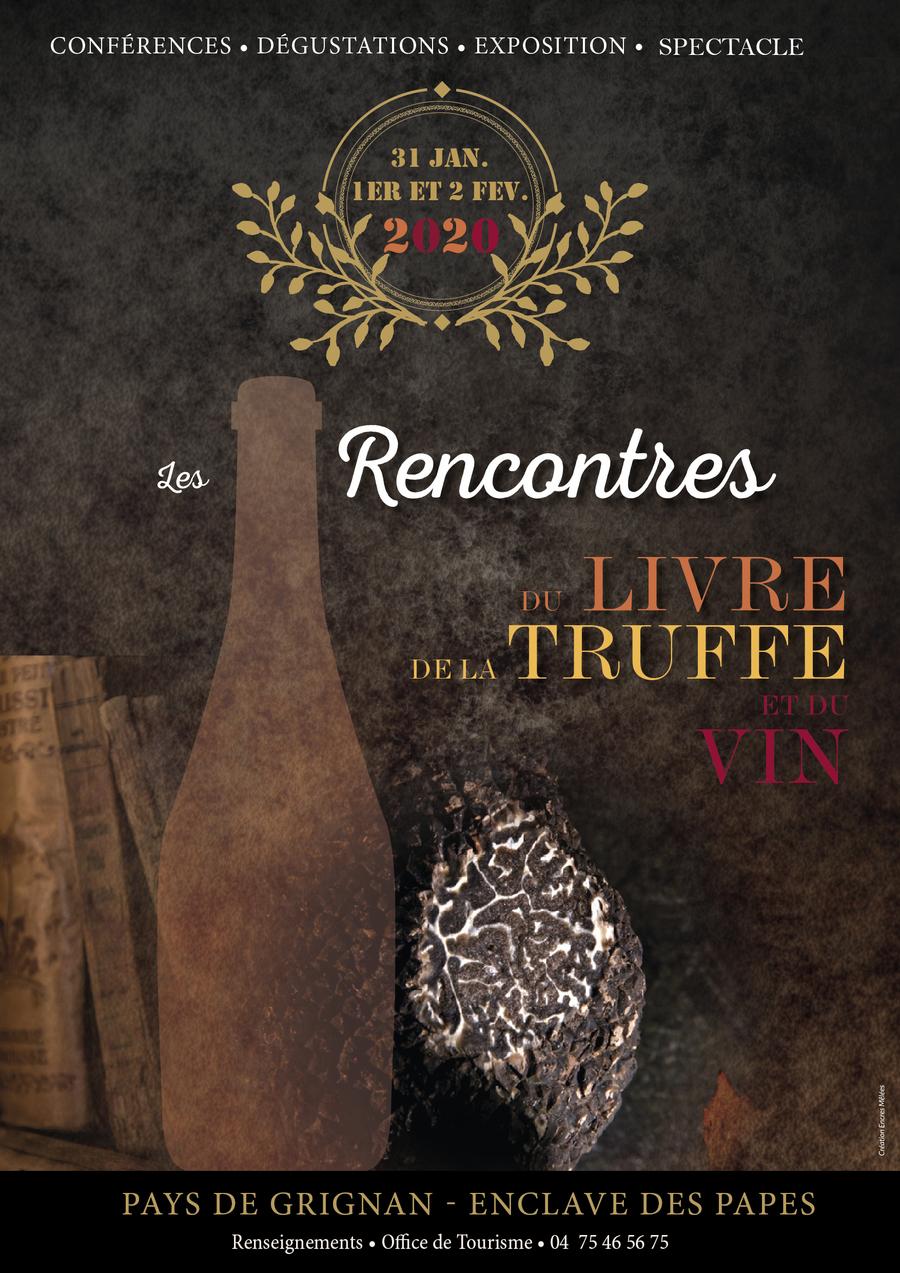 Rencontres du Livre de la Truffes et du Vin